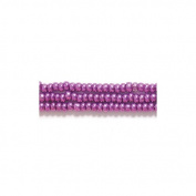 Preciosa Ornela Czech Seed Bead, Metallic Purple, Size 11/0