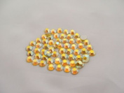 CITRINE AB Crystals Rhinestones 144. 12ss