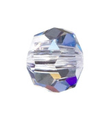 Connie Crystal 10mm Bead AB Crystal, 8 Units