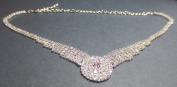 Wedding Party Jewellery Fashion Crystal Rhinestones Shine Bright Like A Diamond Necklace Earring Set