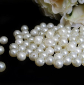 14 mm Ivory Pearls Faux Imitation Plastic Beads - 1 lb lots
