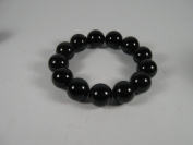 Genuine Agate Bead Stretch Bracelet