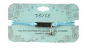 Heart On Your Sleeve Design Scripture Bracelet Peace