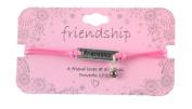 Heart On Your Sleeve Design Scripture Bracelet Friendship
