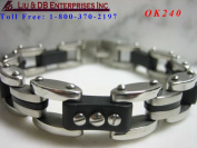 MEN'S STAINLESS STEEL BRACELET OK240