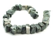 "Camouglage Jasper Gemstone 14mm x 16mm to 14mm x 24mm Nugget Beads 16"" strand"