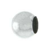 Sterling Silver 6 mm Bead Spacer