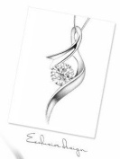 Sliver Plated-925 Sterling Silver Lovely Bling Fashion White Cubic Zirconia Musical note Necklace / Chain--(With Cutely Gift Box)-----. From USA--takes 2-6 working days with shelley.kz INC--------(1 pcs only)------
