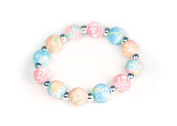 Viva Beads Coral Reef Bracelet | Silverball 12mm | - Handmade Clay Beads Jewellery 05401025