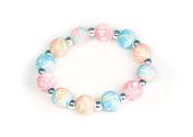 Viva Beads Coral Reef Bracelet | Silverball 12mm | - Handmade Clay Beads Jewellery 05401025