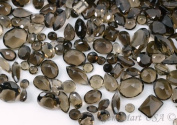 Wholesale 100 + Carats mix Smokey Topaz, Loose Faceted Stones, Smokey Topaz Mix, AAAmazing Cut and Quality, Mix Gems, Mixed Gemstone