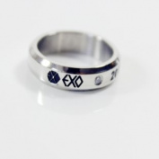K-pop EXO Titanium Tail Ring