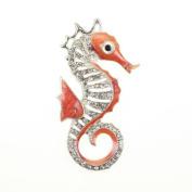 Seasons Jewellery Seahorse Crystal Enamel Pendant