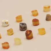 50 Pcs Raw Baltic Amber Beads