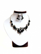 Ocean Waves Fashion Earring & Necklace Set #143