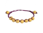 The Andean Collection Costa Bracelet - Acai Fair Trade Jewellery Lemon