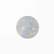 Fire Opal Round 10mm Round Beads for Fine Jewellery Synthetic Manmade White Lab