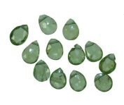 Peridot Briolettes Genuine Gemstone A+ Facet Beads ~6mm-7mm