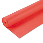 Pacon Products - Pacon - Spectra ArtKraft Duo-Finish Paper, 48 lbs., 120cm x 200 ft, Orange - Sold As 1 Roll - Heavyweight Duo-Finish Kraft paper. - The smooth surface side is ideal for felt pens, finger painting and fine line drawing; the textured sid ..
