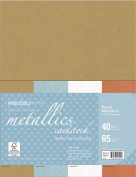 Neenah Creative Collection Specialty Cardstock, 22cm X 28cm , Royal Metallics Mix, 40 Count