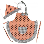 Kella Milla Cutie Little Helper Kids Matching Apron & Hat Set