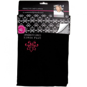 Little Venice Cake Company Cake Perfect Fit Limited Edition Apron, Black/Berry Pink