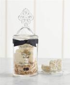 Mud Pie Fleur De Lis Soap Jar