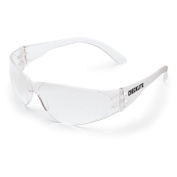 Art Wall Crews Checklite Uncoated Clear Frame Safety Glasses, Set of 12