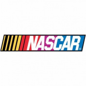 Nascar 3-D Stickers: Racetrack