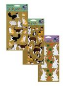 Stickopotamus Animal Collection Stickers farm animals