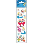 Disney Slims Dimensional Stickers-Alice In Wonderland
