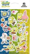 Spongebob Squarepants Characters Scrapbook Stickers