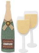 Jolee's By You Embellishments - Champagne Bottle
