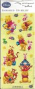 Winnie the Pooh Embossed Scrapbook Stickers