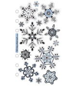 Sticko Vellum Stickers - Snowflakes