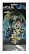 Star Wars 3d Jumbo Sticker (1 Sticker Per Pack) 1 Jumbo Lenticular Sticker