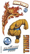 Marvel 3-d Stickers-fantastic Four 1