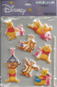 Disney Winnie the Pooh Dimensional Scrapbook Stickers. 9718)