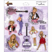 Hannah Montana Ready to Rock Scrapbook Stickers