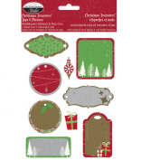 The Paper Co Stickers & Rub-On Set - Christmas Treasures
