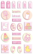 Sandylion Gem Stickers - Beginnings Collection - Baby Girl