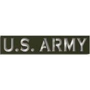 Army Laser Cut Insignia Title 20cm
