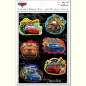 Disney Pixar Cars Metallic Dimensional Scrapbook Stickers. 9769)