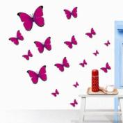 DIY Butterfly Wall Sticker Decals LD0001