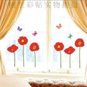 DIY Flower Butterfly Wall Sticker Decals LW973