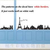 DIY Eiffel Tower la Tour Eiffel Wall Sticker Decals LW954