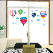 DIY Fire Balloon Wall Sticker Decals LW957