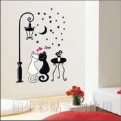 DIY Cat Wall Sticker Decals LW920