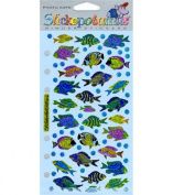 Sticko Classic Stickers-Funky Fish