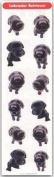 THE DOG Artlist - Mini Black Lab Stickers